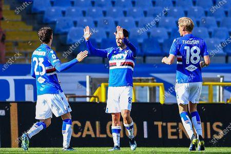 Editorial picture of UC Sampdoria vs Torino FC, Genoa, Italy - 21 Mar 2021