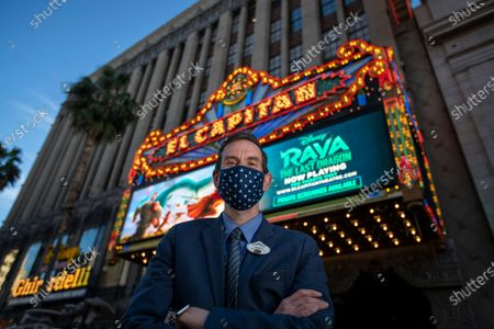 Editorial picture of El Capitan Theatre welcomes guests back after pandemic restrictions are reduced, The El Capitan Theatre, Hollywood, California, United States - 19 Mar 2021