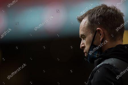 Danny Wilson head coach of Glasgow Warriors
