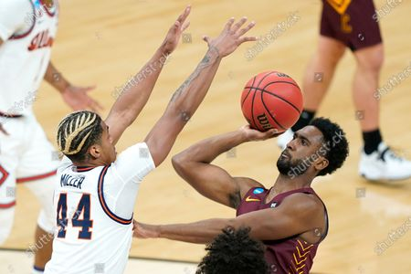 Editorial photo of NCAA Loyola Chicago Illinois Basketball, Indianapolis, United States - 21 Mar 2021