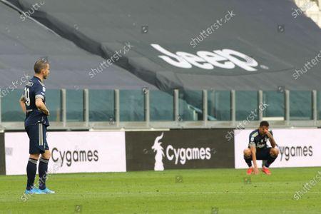 Leonardo Bonucci (Juventus FC) and Danilo Luiz da Silva (Juventus FC)