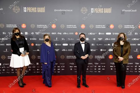 Editorial image of Catalan Film Arts and Sciences Academy's 13th Gaudi Film Awarding ceremony, Arrivals, Barcelona, Spain - 21 Mar 2021