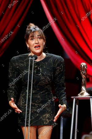 Editorial picture of Catalan Film Arts and Sciences Academy's Gaudi Film Awarding ceremony, Barcelona, Spain - 21 Mar 2021