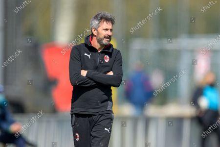 Maurizio Ganz (Head Coach AC Milan) during the Swiss Super League match between FC Lugano and FC Basel at Cornaredo Stadium