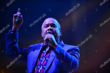 """Hector """"El Torito"""" Acosta performs onstage"""