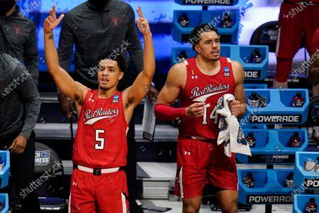 Editorial image of NCAA Texas Tech Arkansas Basketball, Indianapolis, United States - 21 Mar 2021