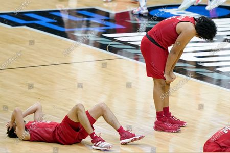 Editorial picture of NCAA Rutgers Houston Basketball, Indianapolis, United States - 21 Mar 2021