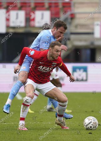 Editorial photo of AZ vs PSV, Dutch Erediviise, Alkmaar, Netherlands - 21 Mar 2021