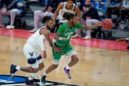 Editorial photo of NCAA North Texas Villanova Basketball, Indianapolis, United States - 21 Mar 2021