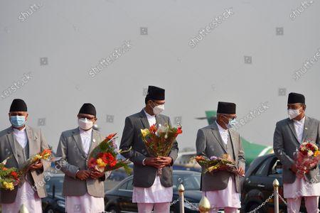 Editorial picture of President Bhandari Leaves For Bangladesh, Kathmandu, Nepal - 22 Mar 2021