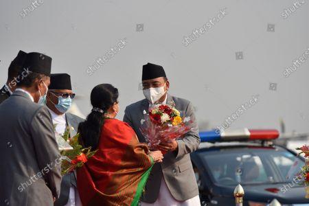 Editorial photo of President Bhandari Leaves For Bangladesh, Kathmandu, Nepal - 22 Mar 2021