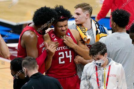 Editorial image of NCAA Rutgers Houston Basketball, Indianapolis, United States - 21 Mar 2021