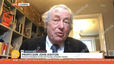 Stock Image of Prof John Ashton