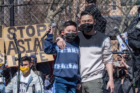 Editorial image of Rally Against Hate Held In New York, US - 21 Mar 2021