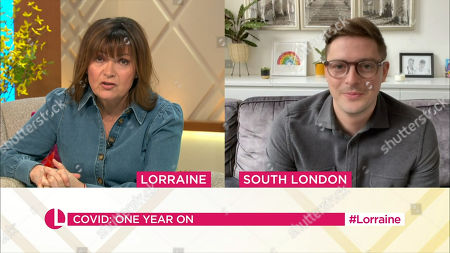 Lorraine Kelly and Dr Alex George