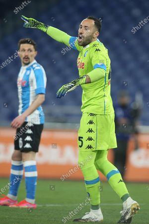 David Ospina (Napoli) in action