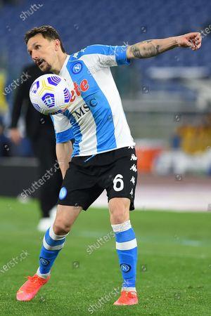 Mario Rui of Napoli in action