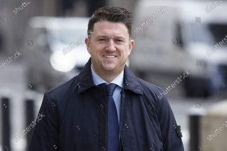 Editorial picture of Tommy Robinson at The Royal Courts of Justice, London, UK - 22 Mar 2021