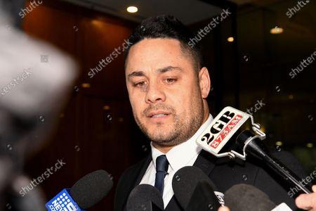 Editorial image of Jarryd Hayne found guilty of sexual assault, Sydney, Australia - 22 Mar 2021
