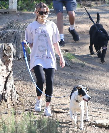 Editorial image of Ava Elizabeth Phillippe out and about, Los Angeles, California, USA - 19 Mar 2021