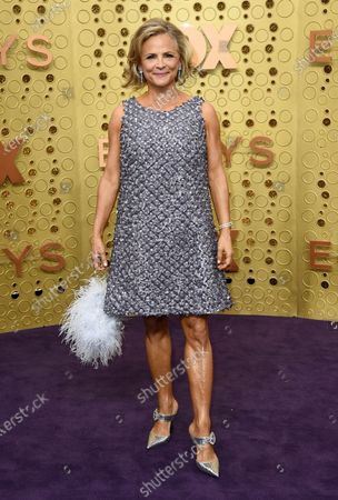 Amy Sedaris arrives at the 71st Primetime Emmy Awards, in Los Angeles. Sedaris turns 60 on March 29