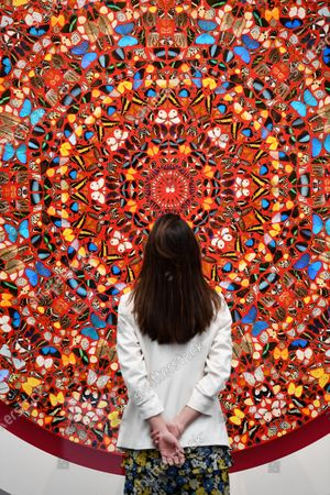 """The Human Voice, 2006, by Damien Hirst, est., £600,000 - 800,000, on sale in a livestreamed event at Sotheby's, """"Modern Renaissance: A Cross-Category Sale"""" taking place on March 25."""