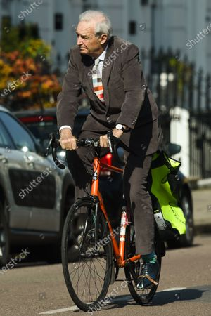 Editorial photo of Exclusive - Jon Snow out and about, London, UK - 22 Mar 2021