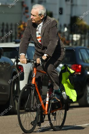 Editorial picture of Exclusive - Jon Snow out and about, London, UK - 22 Mar 2021