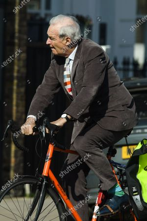 Editorial image of Exclusive - Jon Snow out and about, London, UK - 22 Mar 2021