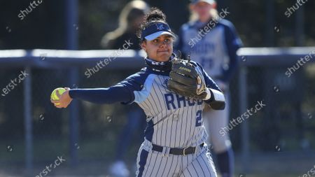 Editorial picture of Holy Cross Rhode Island Softball, Kingston, United States - 19 Mar 2021