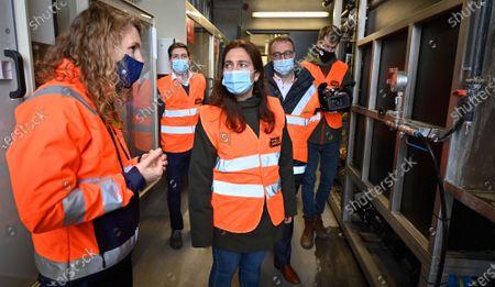 Editorial picture of Economy Ab Inbev World Day Water Visit, Leuven, Belgium - 22 Mar 2021