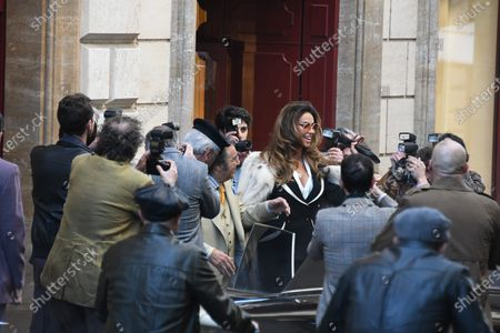 Madalina Diana Ghenea and Al Pacino