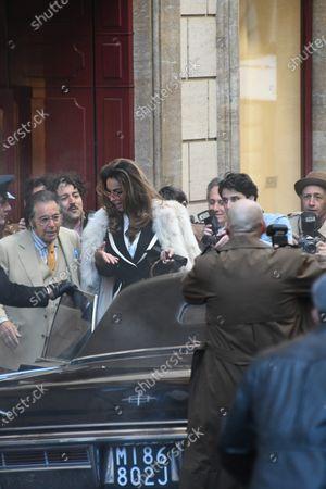 Stock Photo of Madalina Diana Ghenea and Al Pacino