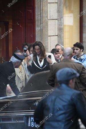 Stock Image of Madalina Diana Ghenea and Al Pacino