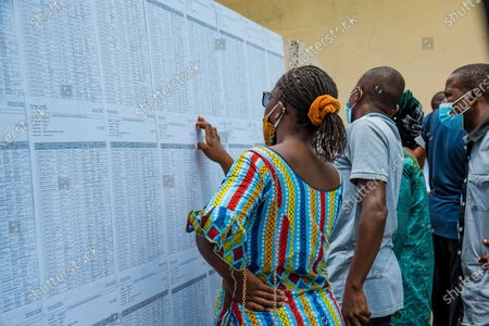 Editorial photo of Election, Brazzaville, Republic of Congo - 21 Mar 2021