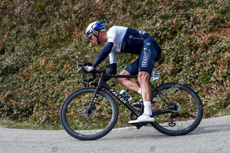 181 Chris Froome from Great Britain of Israel Start Up Nation action, during the 100th Volta Ciclista a Catalunya 2021, Stage 1 from Calella to Calella. On March 22, 2021 in Calella, Spain.