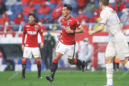 Tomoaki Makino (Reds) - Football / Soccer :  2021 J1 League match between Urawa Red Diamonds 0-5 Kawasaki Frontale at Saitama Stadium 2002, Saitama, Japan.