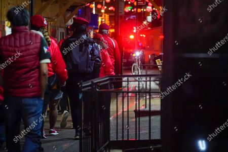 Editorial photo of Guardian Angels Patrol Chinatown, New York, United States - 22 Mar 2021