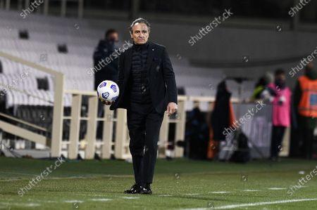 Cesare Prandelli coach of of ACF Fiorentina