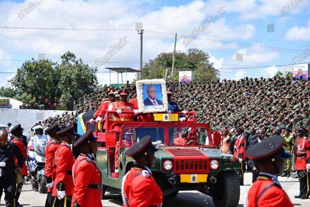 Editorial photo of Tanzania Dodoma Former President Magufuli State Funeral - 22 Mar 2021