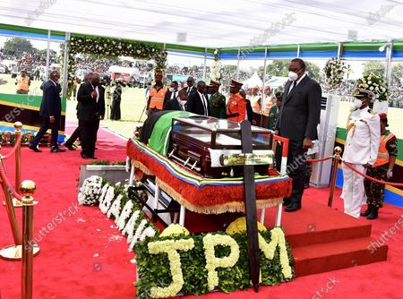 Editorial picture of Tanzania Dodoma Former President Magufuli State Funeral - 22 Mar 2021