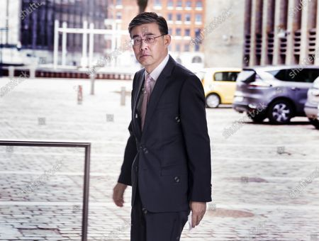 Editorial photo of China's Ambassador to Denmark arrives at Ministry of Foreign Affairs in Copenhagen - 23 Mar 2021