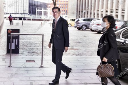 Editorial picture of China's Ambassador to Denmark arrives at Ministry of Foreign Affairs in Copenhagen - 23 Mar 2021