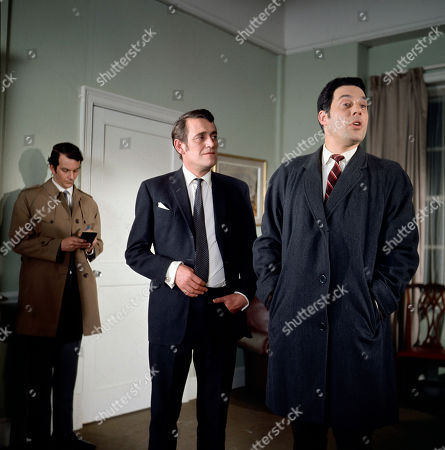 Doctor Lambert, as played by Gerald Flood, and Inspector Nelson, as played by Michael Griffiths