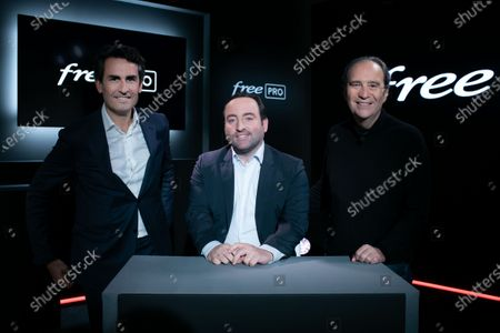 Editorial image of FREE announces the launch of its new internet offer for professionals, Paris, France - 23 Mar 2021