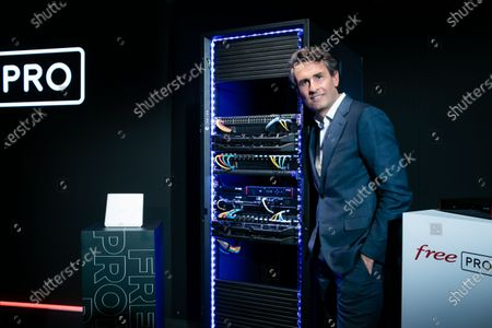 Editorial picture of FREE announces the launch of its new internet offer for professionals, Paris, France - 23 Mar 2021