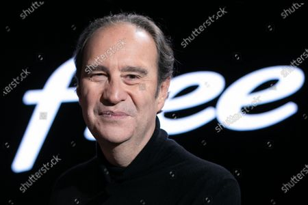 Xavier Niel, Founder of Free. Xavier Niel, Founder of Free, Thomas Reynaud CEO of Iliad and Kevin Polizzi Director of Free Pro.