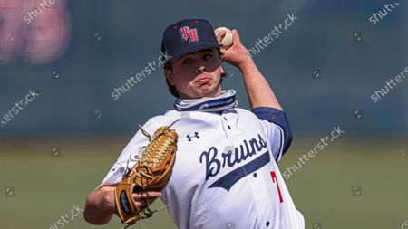 Editorial picture of NCAA baseball: SIU Edwardsville Belmont, Nashville, United States - 20 Mar 2021