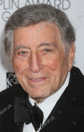 Tony Bennett attends the Film Society of Lincoln Center's 40th Anniversary Chaplin Award Gala honoring Barbra Streisand at Avery Fisher Hall in New York City on April 22, 2013.  Photo Credit: Henry McGee/MediaPunch