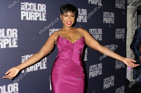 """Stock Picture of Jennifer Hudson attends the opening night party for """"The Color Purple"""" at Copacabana  in New York City on December 10, 2015.  Photo Credit: Henry McGee/MediaPunch"""